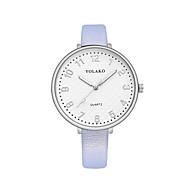 cheap -Women's Wrist Watch Chinese Casual Watch PU Band Fashion / Minimalist Black / White / Blue