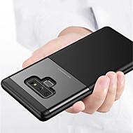 Недорогие Чехлы и кейсы для Galaxy Note-Кейс для Назначение SSamsung Galaxy Note 9 Рельефный Кейс на заднюю панель Однотонный Твердый ПК для Note 9