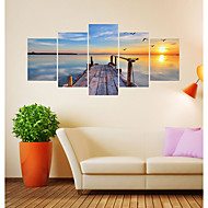 preiswerte -Dekorative Wand Sticker - 3D Wand Sticker Landschaft / Formen Wohnzimmer / Schlafzimmer