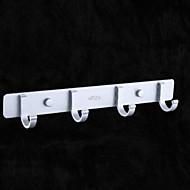 お買い得  浴室用小物-バスローブフック 新デザイン / クール コンテンポラリー アルミ 1個 壁式