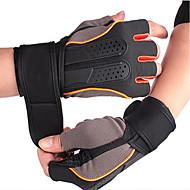 abordables -Gants / Gants du sport / Gants d'Exercice pour Multisport / Fitness Sportif / Respirable / Antidérapant Acétate / Plastique / Microfibre 1 set Orange / Bleu / Rose