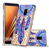 Недорогие Чехлы и кейсы для Galaxy А-Кейс для Назначение SSamsung Galaxy A8 Plus 2018 / A8 2018 С узором Кейс на заднюю панель Ловец снов Мягкий ТПУ для A6 (2018) / A6+ (2018) / A8 2018