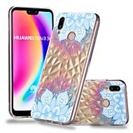 お買い得  携帯電話ケース-ケース 用途 Huawei P20 / P20 lite クリア / パターン バックカバー 曼荼羅 ソフト TPU のために Huawei P20 / Huawei P20 Pro / Huawei P20 lite