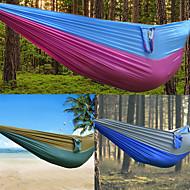 abordables Muebles de Acampada-DesertFox® Hamaca para camping Al aire libre Listo para vestir, Viaje Ripstop de alta densidad para Senderismo / Camping - 2 Personas
