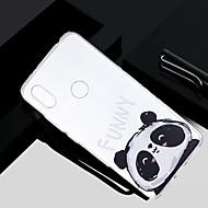 お買い得  携帯電話ケース-ケース 用途 Xiaomi Redmi S2 / Mi 5X クリア / 半透明 / パターン バックカバー パンダ ソフト TPU のために Redmi Note 5A / Xiaomi Redmi Note 4X / Xiaomi Redmi Note 4