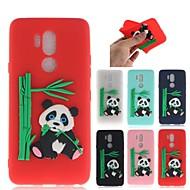 preiswerte Handyhüllen-Hülle Für LG G7 Muster Rückseite 3D Zeichentrick / Panda Weich TPU für LG G7
