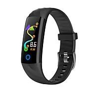 KUPENG S5 Unisexo Pulseira inteligente Android iOS Bluetooth Esportivo Impermeável Monitor de Batimento Cardíaco Medição de Pressão Sanguínea Tela de toque Podômetro Aviso de Chamada Monitor de