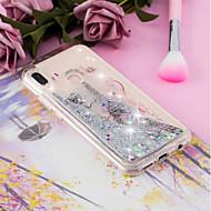 お買い得  携帯電話ケース-ケース 用途 Huawei P20 / P20 lite リキッド / クリア / パターン バックカバー バタフライ / エッフェル塔 ソフト TPU のために Huawei P20 / Huawei P20 Pro / Huawei P20 lite