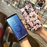 Недорогие Чехлы и кейсы для Galaxy S7-Кейс для Назначение SSamsung Galaxy S9 Plus / S9 Матовое Кейс на заднюю панель Цветы Твердый ПК для S9 / S9 Plus / S8 Plus