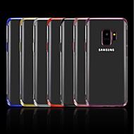 Недорогие Чехлы и кейсы для Galaxy S8-Кейс для Назначение SSamsung Galaxy S9 Plus / S8 Plus Покрытие / Прозрачный Кейс на заднюю панель Однотонный Мягкий ТПУ для S9 / S9 Plus / S8 Plus