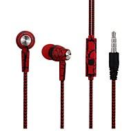 お買い得  -COOLHILLS S-9 有線インイヤーイヤホン ワイヤー 携帯電話 ステレオ