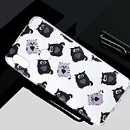 お買い得  携帯電話ケース-ケース 用途 Xiaomi Redmi S2 / Mi 5X クリア / 半透明 / パターン バックカバー 猫 ソフト TPU のために Redmi Note 5A / Xiaomi Redmi Note 4X / Xiaomi Redmi Note 4