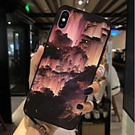 Недорогие Кейсы для iPhone 8 Plus-Кейс для Назначение Apple iPhone X / iPhone 8 С узором Кейс на заднюю панель Пейзаж Мягкий ТПУ для iPhone X / iPhone 8 Pluss / iPhone 8
