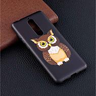 preiswerte Handyhüllen-Hülle Für Nokia Nokia 5.1 / Nokia 3.1 Muster Rückseite Eule Weich TPU für Nokia 8 / Nokia 6 / Nokia 5