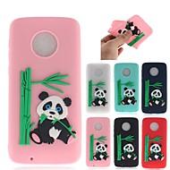 preiswerte Handyhüllen-Hülle Für Motorola MOTO G6 / Moto G6 Plus Muster Rückseite 3D Zeichentrick / Panda Weich TPU für MOTO G6 / Moto G6 Plus