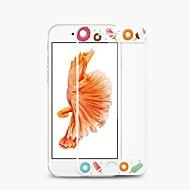 Недорогие Защитные плёнки для экранов iPhone 8 Plus-Защитная плёнка для экрана для Apple iPhone 8 Pluss / iPhone 8 / iPhone 7 Plus Закаленное стекло 1 ед. Защитная пленка для экрана Узор