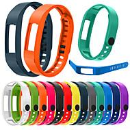 Недорогие Аксессуары для смарт-часов-Ремешок для часов для Vivofit 2 Garmin Спортивный ремешок силиконовый Повязка на запястье