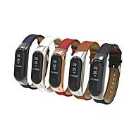 Недорогие Ремешки для часов Xiaomi-Ремешок для часов для Mi Band 3 Xiaomi Спортивный ремешок Натуральная кожа Повязка на запястье