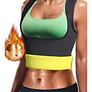 billige Træning og fitness-Body Shaper / Hot Sweat Workout Tank Top Slankingsvest / Formet beklædning Med Neopren Ingen Lynlås Vægttab, Tummy Fat Burner, Talje træner Til Dame Yoga / Træning & Fitness / Træningscenter