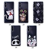 preiswerte Handyhüllen-Hülle Für Huawei P20 / P20 Pro Ultra dünn / Transparent / Muster Rückseite Tier Weich TPU für Huawei P20 / Huawei P20 Pro / Huawei P20 lite