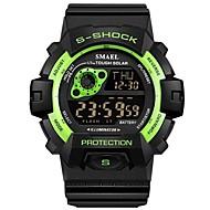 levne -SMAEL Pánské Sportovní hodinky Digitální hodinky japonština Digitální Černá 30 m Voděodolné Kalendář Chronograf Digitální Módní - Zelená Modrá / Svítící