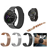 cheap Smartwatch Accessories-Watch Band for Vivomove / Vivomove HR / Vivoactive 3 Garmin Sport Band / Milanese Loop Stainless Steel Wrist Strap