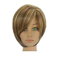 お買い得  -人工毛ウィッグ ストレート オンブル' ショートボブ 合成 10 インチ ソフト / 耐熱 / 合成 オンブル' かつら 女性用 ショート キャップレス オムブレ色 hairjoy