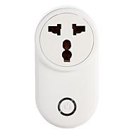 Недорогие Smart Plug-weto w-t03 in / za wifi smart plug для интеллектуального домашнего пульта дистанционного управления работает с alexa google home timer socket для ios android