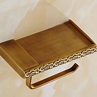 abordables Gadgets de Baño-Soporte para Papel Higiénico Nuevo diseño / Cool Modern Latón 1pc Soportes del Papel Higiénico Colocado en la Pared