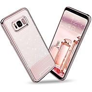 Недорогие Чехлы и кейсы для Galaxy S8-bentoben чехол для samsung galaxy s8 plus / s8 покрытие / ультра тонкий / блеск блеск задняя крышка твердый цветной мягкий tpu / pc для s8 plus / s8
