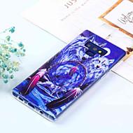 Недорогие Чехлы и кейсы для Galaxy Note-Кейс для Назначение SSamsung Galaxy Note 9 / Note 8 С узором Кейс на заднюю панель Животное Мягкий ТПУ для Note 9 / Note 8