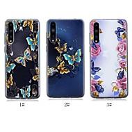 preiswerte Handyhüllen-Hülle Für Huawei P20 / P20 Pro Ultra dünn / Transparent / Muster Rückseite Schmetterling Weich TPU für Huawei P20 / Huawei P20 Pro / Huawei P20 lite