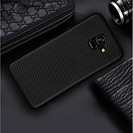 Недорогие Чехлы и кейсы для Galaxy A7(2017)-Кейс для Назначение SSamsung Galaxy A8 Plus 2018 / A8 2018 Ультратонкий / Матовое Кейс на заднюю панель Однотонный Мягкий Углеродное волокно для A6 (2018) / A6+ (2018) / A3 (2017)