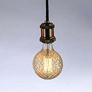 abordables Bombillas Incandescentes-1pc 40 W E26 / E27 G95 Blanco Cálido 2300 k Retro / Regulable / Decorativa Bombilla incandescente Vintage Edison 220-240 V