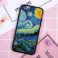 Недорогие Кейсы для iPhone 8-Кейс для Назначение Apple iPhone X / iPhone 8 Plus Защита от пыли Кейс на заднюю панель Масляный рисунок Мягкий ТПУ для iPhone X / iPhone 8 Pluss / iPhone 8