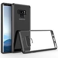 Недорогие Чехлы и кейсы для Galaxy Note-Кейс для Назначение SSamsung Galaxy Note 9 Ультратонкий / Прозрачный Кейс на заднюю панель Однотонный Твердый Акрил для Note 9