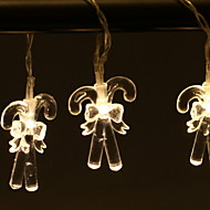 cheap -1.2m String Lights 10 LEDs Warm White / White / Multi Color New Design / Decorative / Cool AA Batteries Powered