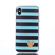 cheap -Case For Apple iPhone XR / iPhone XS Max Pattern Back Cover Heart Soft TPU for iPhone XS / iPhone XR / iPhone XS Max