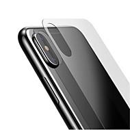 Недорогие Защитные плёнки для экрана iPhone-Защитная плёнка для экрана для Apple iPhone XS / iPhone XS Max Закаленное стекло 1 ед. Защитная пленка для задней панели HD / Уровень защиты 9H / 2.5D закругленные углы