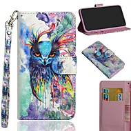 Case For Apple iPhone XS / iPhone XS Max Pattern Full Body Cases Animal / Owl Hard PU Leather for iPhone XS / iPhone XR / iPhone XS Max