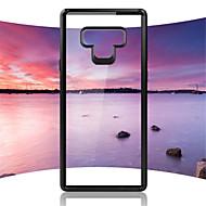 Недорогие Чехлы и кейсы для Galaxy Note-Кейс для Назначение SSamsung Galaxy Note 9 / Note 8 Зеркальная поверхность Кейс на заднюю панель Однотонный Твердый ПК для Note 9 / Note 8