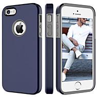 お買い得  -ケース 用途 Apple iPhone SE / 5s / iPhone 5 耐衝撃 バックカバー ソリッド ハード PC