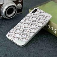 Недорогие Кейсы для iPhone 8-Кейс для Назначение Apple iPhone XR / iPhone XS Max Прозрачный / С узором Кейс на заднюю панель единорогом Мягкий ТПУ для iPhone XS / iPhone XR / iPhone XS Max