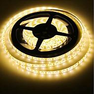 billiga -SENCART 5m Flexibla LED-ljusslingor 300 lysdioder 2835 SMD RGB / Vit / Röd Klippbar / Dekorativ / Kopplingsbar 12 V 1st
