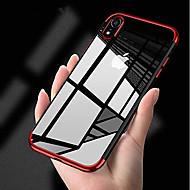 מגן עבור Apple iPhone XS / iPhone XS Max ציפוי / אולטרה דק כיסוי אחורי אחיד רך TPU ל iPhone XS / iPhone XR / iPhone XS Max
