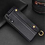 preiswerte Handyhüllen-Hülle Für Huawei P20 Pro / P20 lite mit Halterung / Ultra dünn Rückseite Solide Weich TPU für Huawei P20 / Huawei P20 Pro / Huawei P20 lite