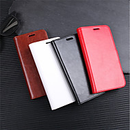 Custodia Per Xiaomi Xiaomi Pocophone F1 / Redmi 6 / Mi 8 A portafoglio / Porta-carte di credito / Con chiusura magnetica Integrale Tinta unita Resistente pelle sintetica per Xiaomi Redmi Note 5 Pro