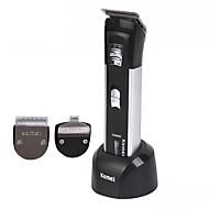 お買い得  -Kemei ヘアトリマー KM-3006 のために 男女兼用 耐水 / スリーインワン / 低雑音 / 洗濯可 / 220 / 230 / ハンドヘルドデザイン / 軽くて便利な / 充電インジケータ