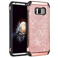 Недорогие Чехлы и кейсы для Galaxy S8 Plus-bentoben для samsung galaxy s8 plus ударопрочный / покрытие / блеск блеск задняя крышка блеск блеск твердый tpu / pc для s8 plus