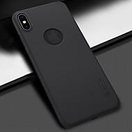 お買い得  -アップルiphone xs / iphone xs maxショックプルーフ/フロスト後カバーiphone xs / iphone xr / iphone xs maxのソリッドカラーハードpc